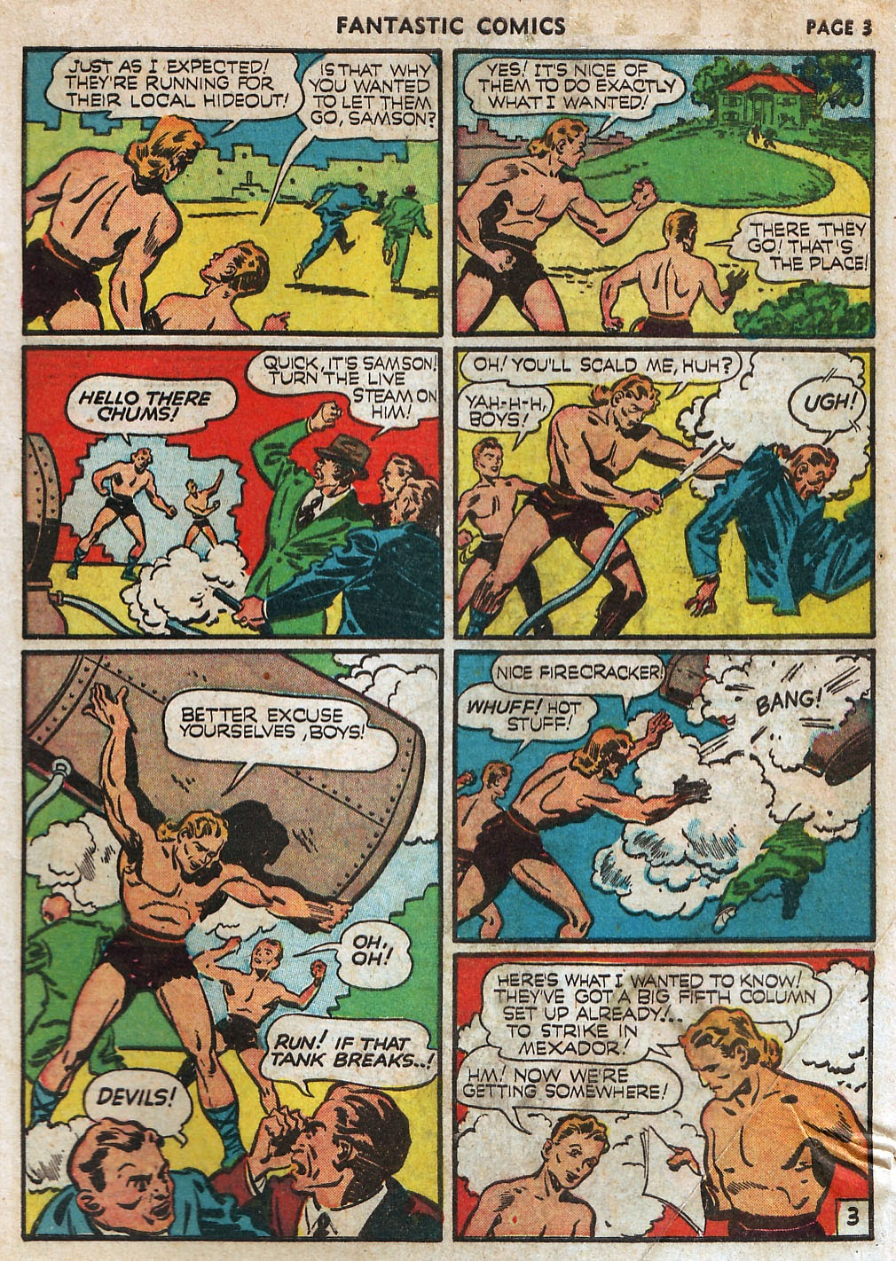 Read online Fantastic Comics comic -  Issue #17 - 5