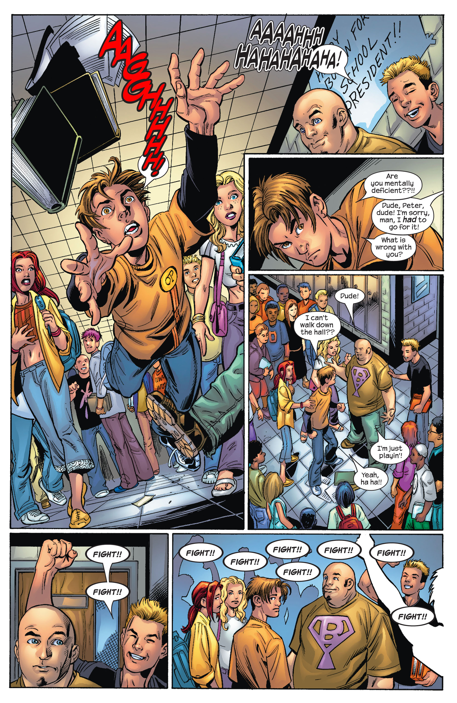 Read online Ultimate Spider-Man (2000) comic -  Issue #68 - 6