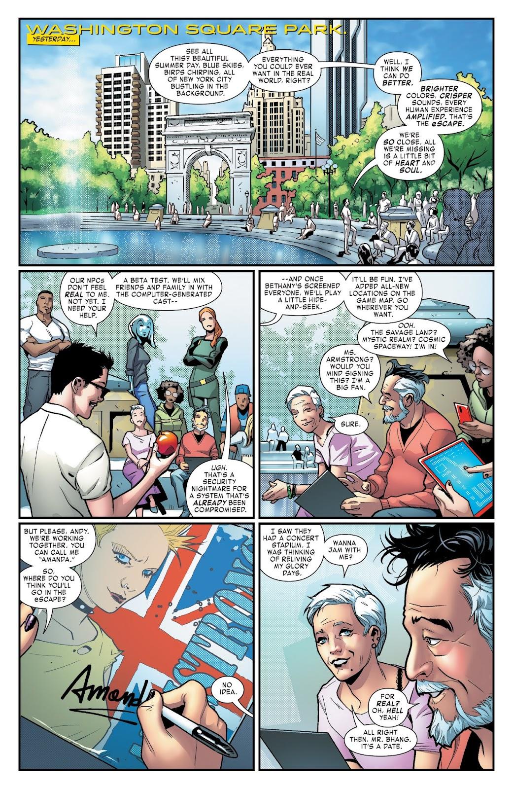 Read online Tony Stark: Iron Man comic -  Issue #3 - 6