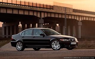 bmw e46   sedan czarny