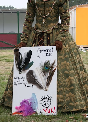 Keep calm and craft on a sampling of renaissance faire costumes also you may want to keep in mind that certain feathers were only worn by the gentry and could look out of place on the wrong costume solutioingenieria Gallery