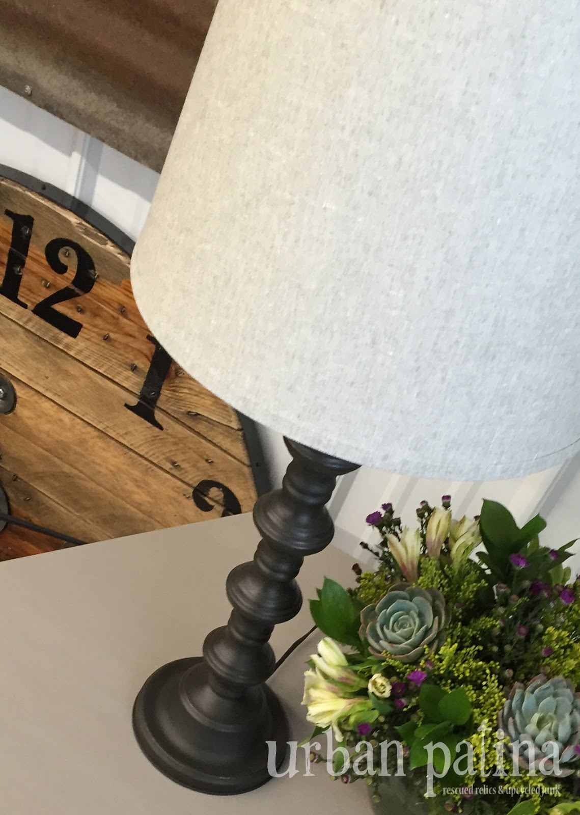 Urban Patina: Authentically Crafted Home + Gift: Thrift Store Lamp ...