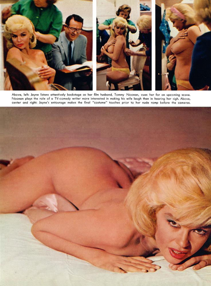 Jayne Mansfield Nude Pussy