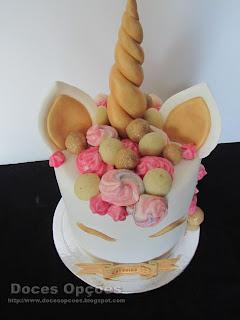 bolo infantil Unicórnio bragança
