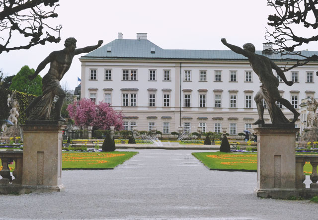 Mirabell Gardens Sound of Music Statues