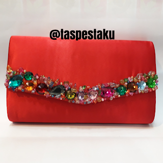 Tas Pesta Merah Red