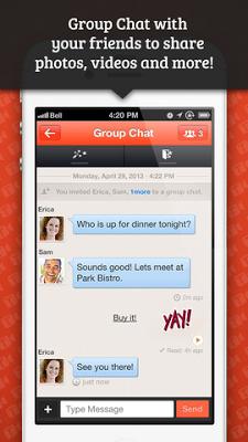 تطبيق مجانى مميز لاجراء المكالمات الصوتية والفيديو والرسائل النصية مجاناً للاندرويد والايفون والايباد والايبود.Tango Text, Voice, and Video.apk-ipa