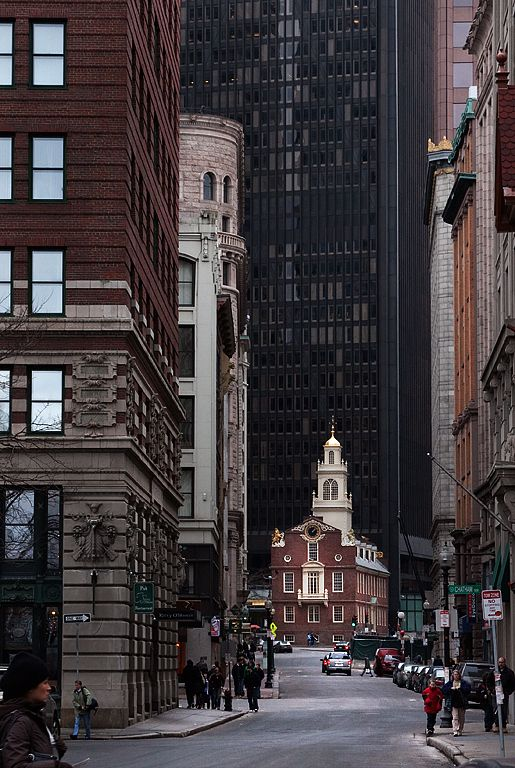 Old State House, Boston, Massachusetts, USA