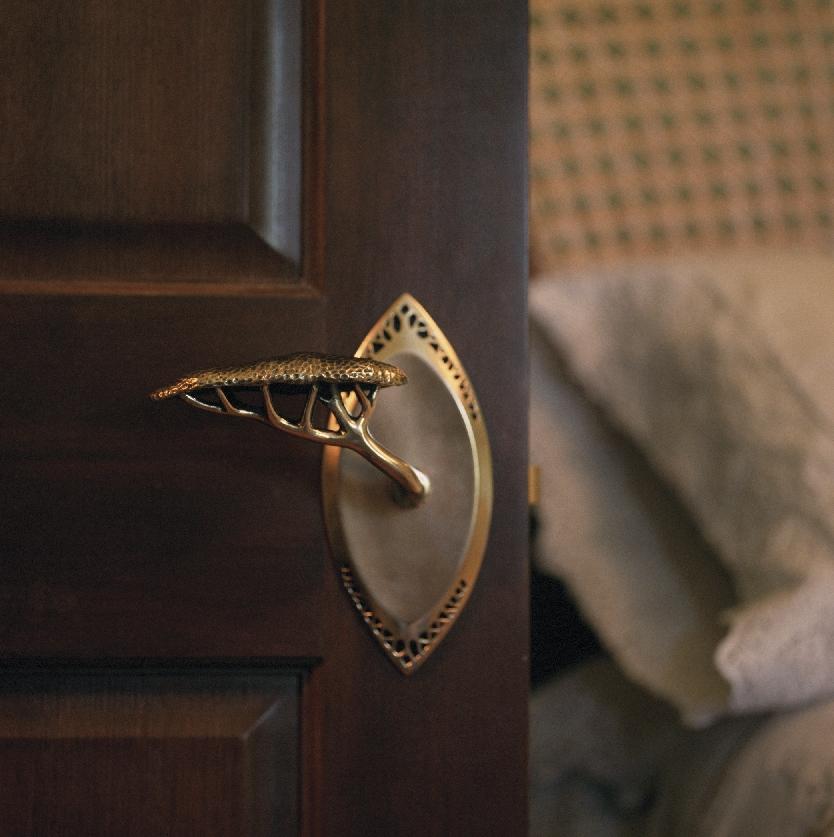 Unique Door Handle Hedgerow Style