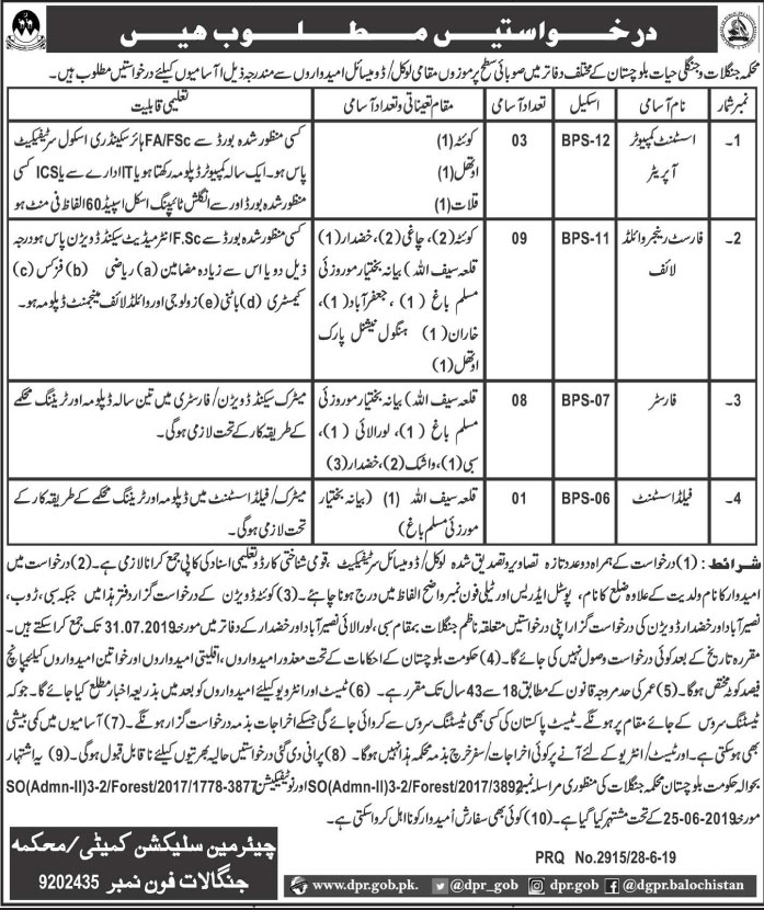Latest Wildlife Protection Department Jobs 2019,wildlife protection,education department in jobs 2019,forest department jobs 2019,wildlife department jobs,forestry wildlife fisheries department jobs,latest govt jobs 2019,punjab wildlife department protection efforts,jobs 2019,latest news,elementary and secondary education department in jobs 2019,forest and wildlife conservation department posts,wildlife,texas parks & wildlife department,wildlife department