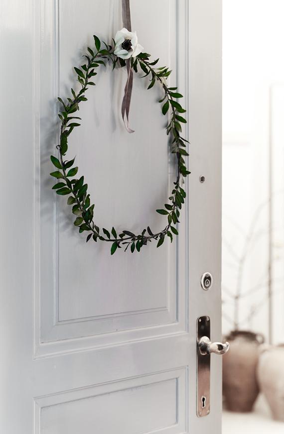 Minimalist wreath ideas | Bo Bedre