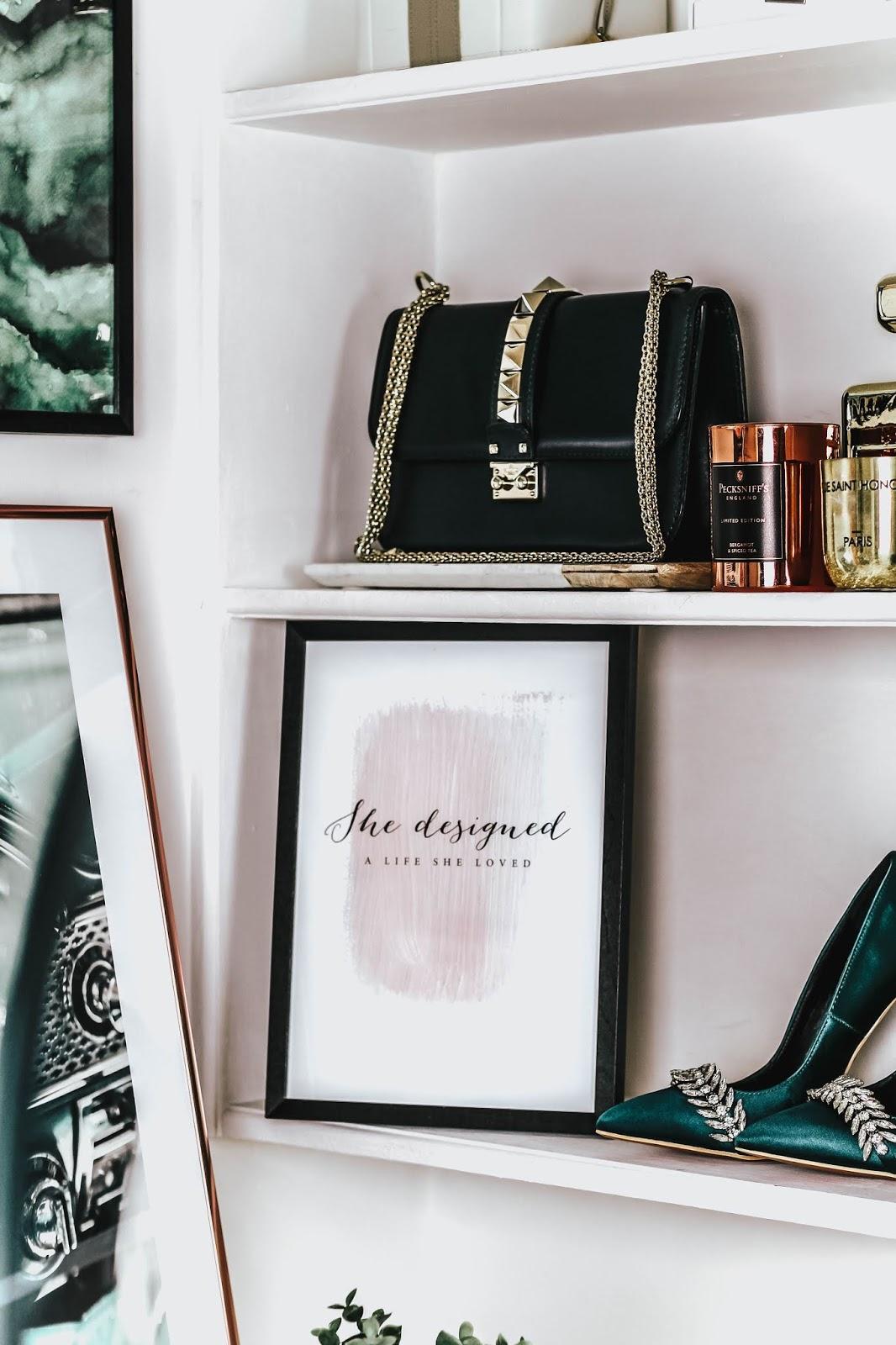 Desenio Art Print She Designed A Life She Loved