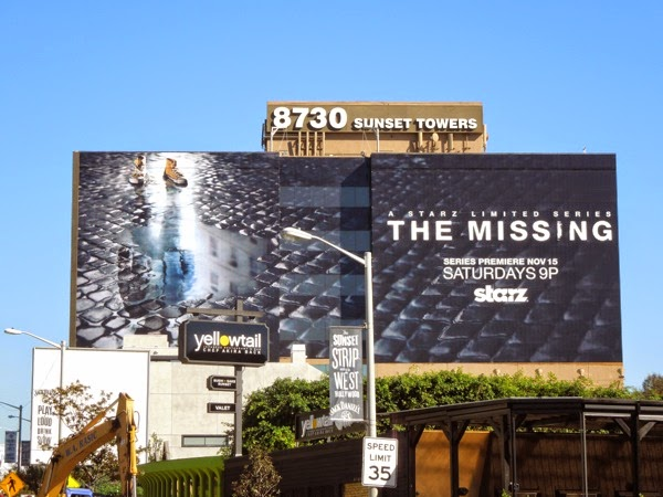The Missing giant billboard