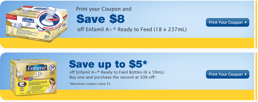 image regarding Enfamil Printable Coupons $10 referred to as Enfamil discount codes canada 2018 / Mission tortillas coupon 2018
