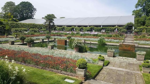 jardin fleuri de kensington palace Londres