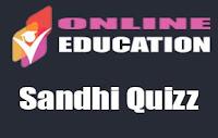 Sandhi Quizz