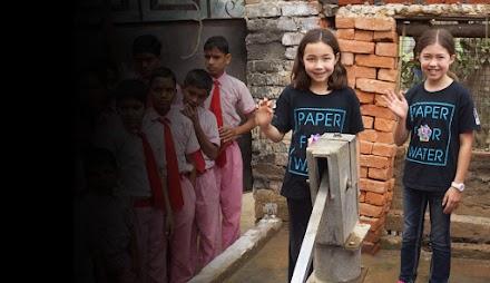 Paper for Water | Ein besonderes Hilfsprojekt