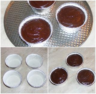 preparare vulcan de ciocolata, prajitura de ciocolata, briose de ciocolata, retete, deserturi, dulciuri, prajituri, retete culinare,