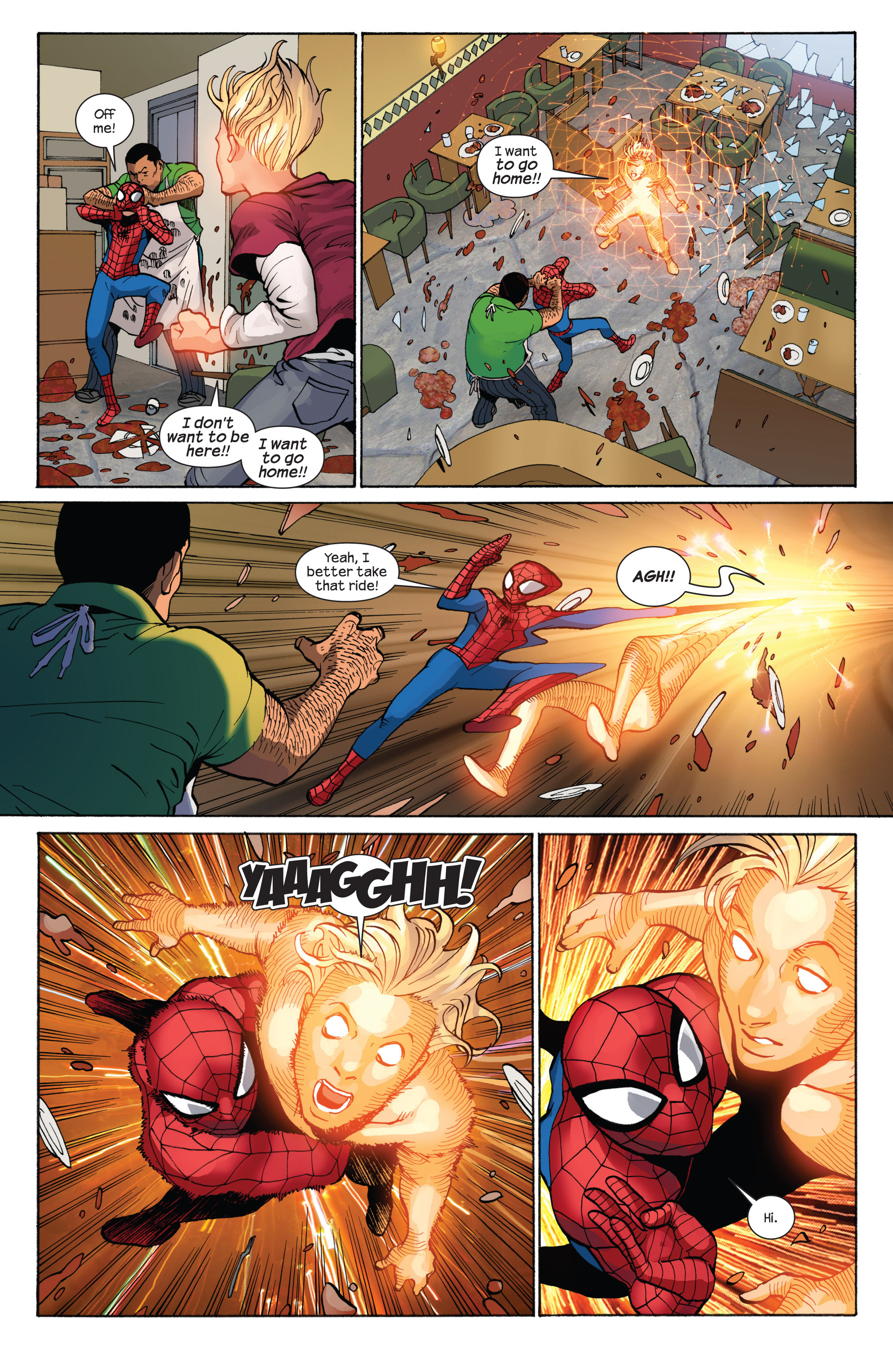 Read online Ultimate Spider-Man (2009) comic -  Issue #7 - 20