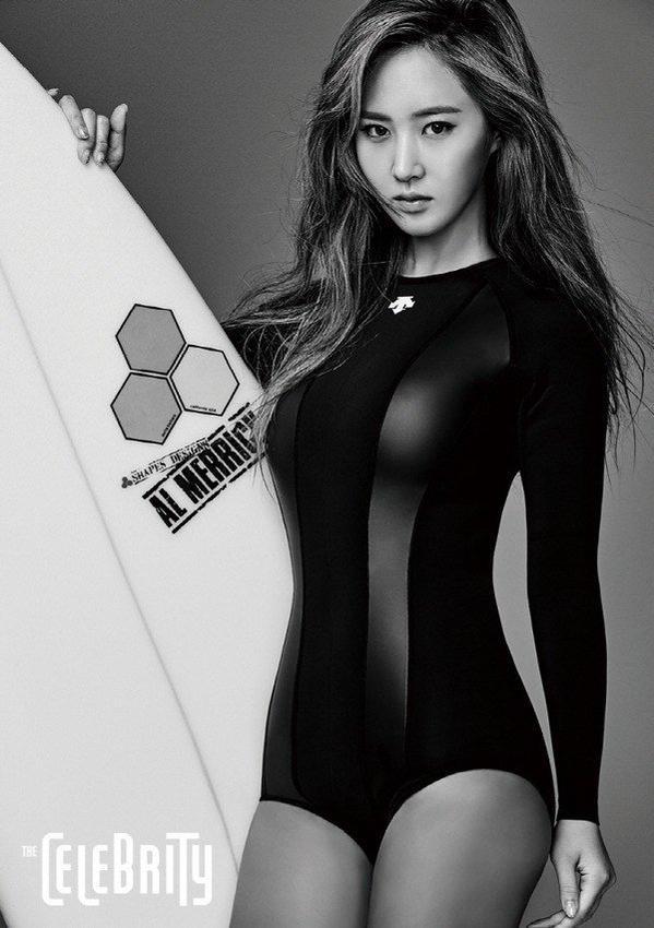 Girls generation sexy pics Girls Generation Yuri Is A Sexy Surfer Daily K Pop News
