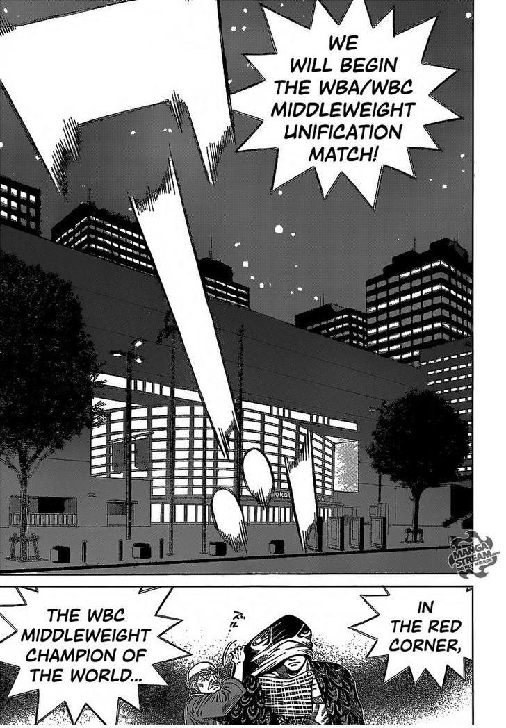 Hajime no Ippo - Chapter 1095