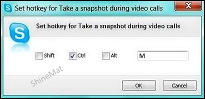 Skype hotkey setup