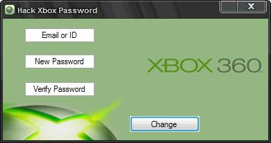 Hack Xbox Password | Brehm Lisa