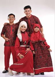 gamis rompi batik