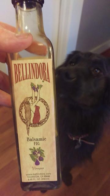 Pick a good, thick Balsamic Vinegar