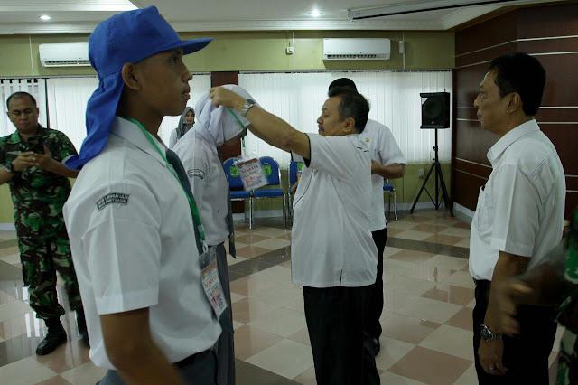 Asisten II Buka Diklat Paskibraka Kabupaten Muba Tahun 2017