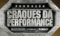 Participar da promoção Black & Decker Craques da Performance