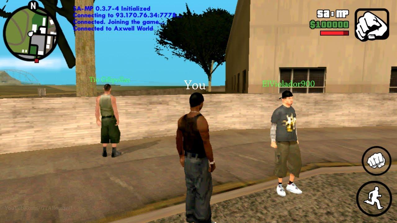 GTA San Andreas APK OBB 2.00 (MOD Money)