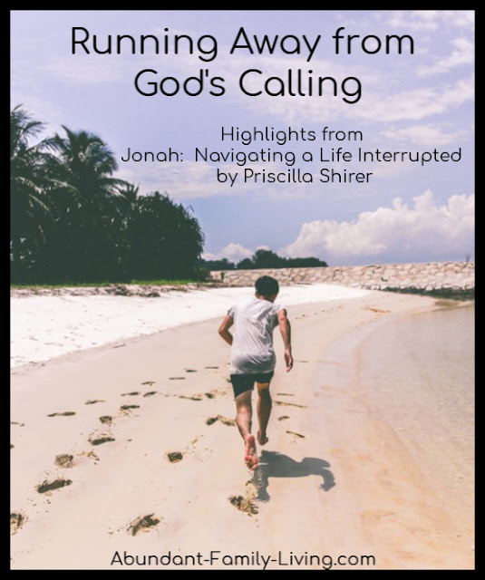 Running from God's Calling