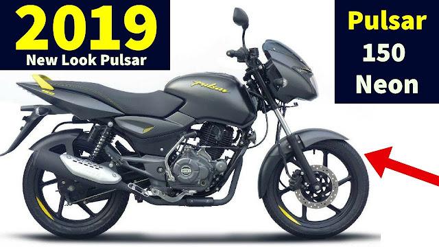 2019 Bajaj Pulsar 150 Neon shade