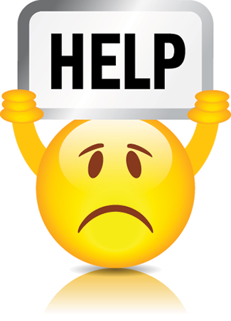 Help emoticon