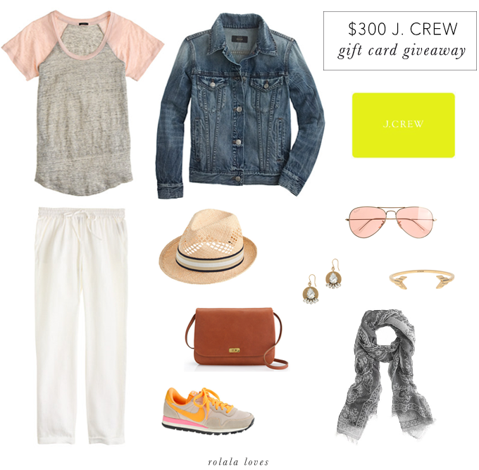 J Crew Gift Card Giveaway, J Crew Outfit, J Crew Wish List