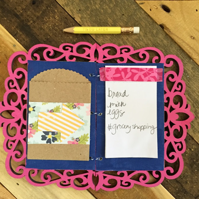 DIY to-do notebook craft