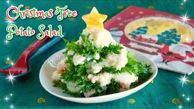 Christmas tree japanese potato salad easy last minute recipe idea easy last minute christmas recipe idea forumfinder Image collections