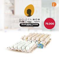 Dusdusan Golden Mom Telur Bebek Tawar Isi 30 Butir ANDHIMIND