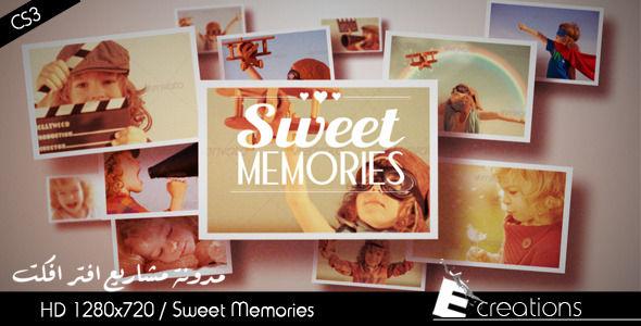 قالب افتر افكت مجاني - قالب صور للذكريات مميز واحترافي   CS4 فأعلى