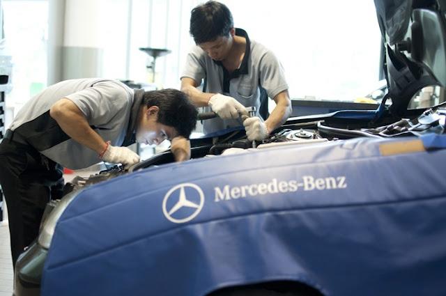 Mercedes Trường Chinh có Chất lượng phục vụ 5 sao