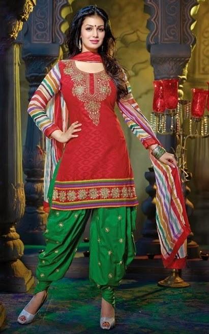 dhoti salwar suits new designs