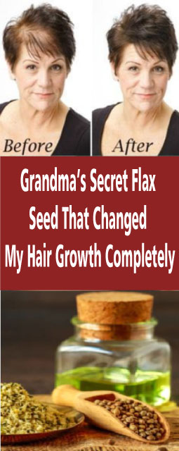 Grandma's Secret Flax Seed That Changed My Hair Growth Completely