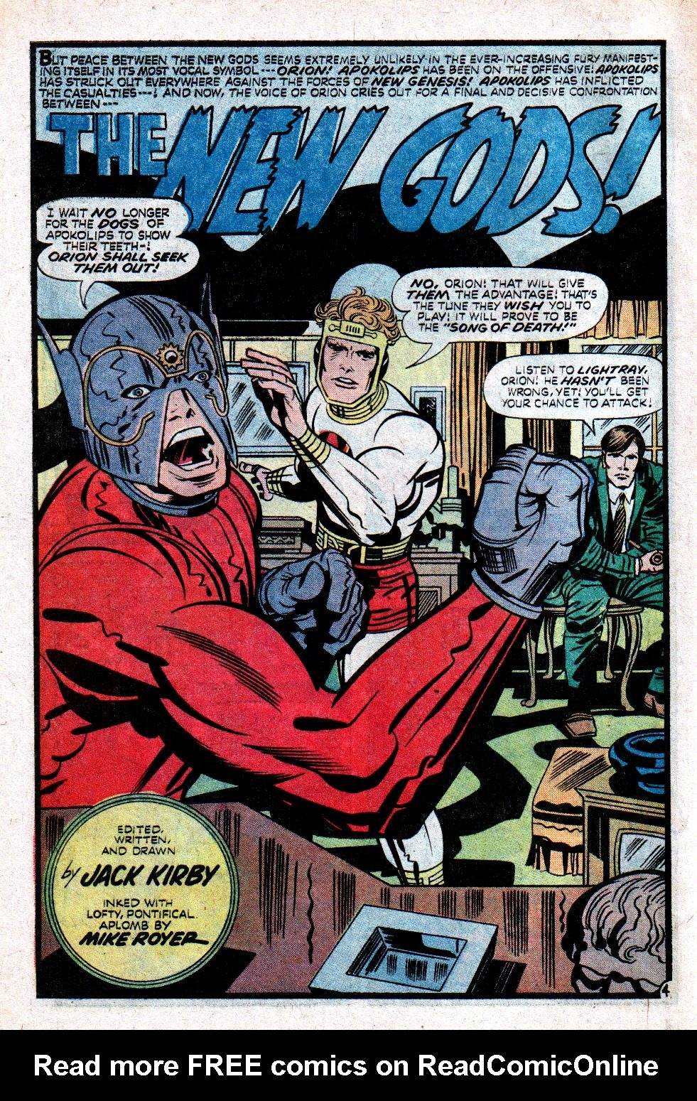 The New Gods (1971) issue 11 - Page 6