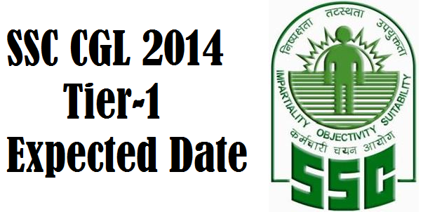 Expected Date of SSC CGL 2014 Tier 1 Exam