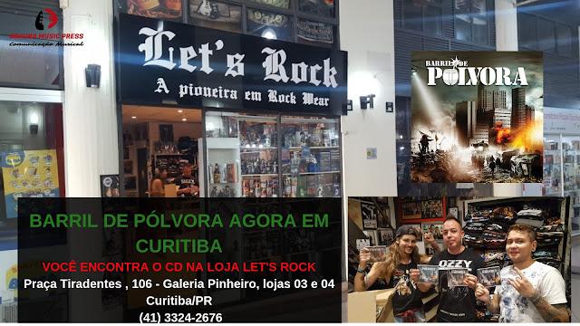 Barril de Pólvora: cotado para Melhores de 2018, CD chega em loja de Curitiba