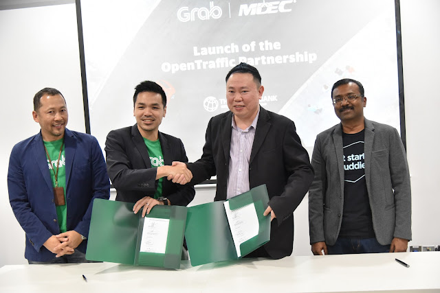 OpenTraffic Platform Launch by Grab Malaysia , MDEC and World Bank Group