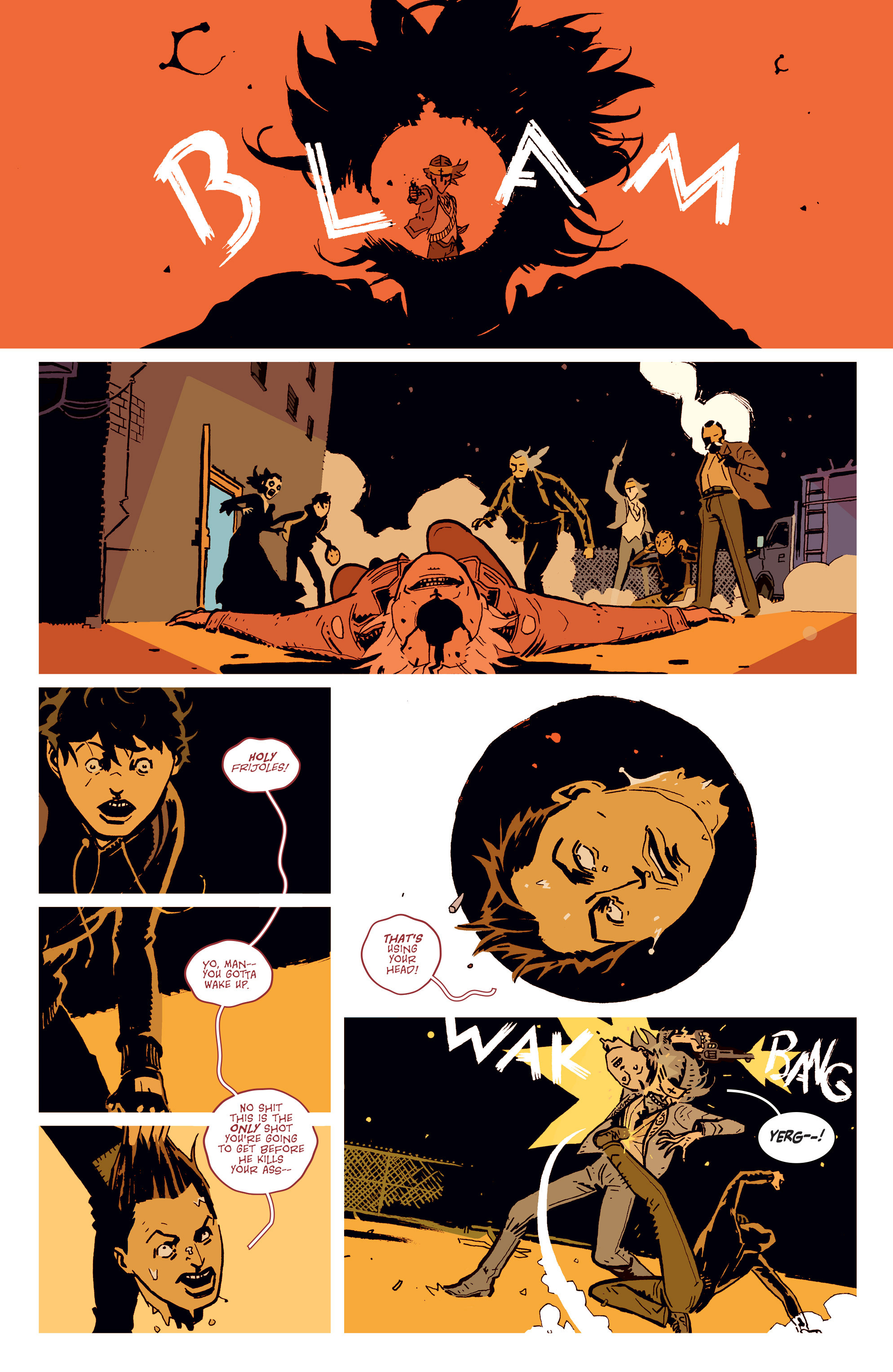 Read online Deadly Class comic -  Issue # _TPB 3 - 9