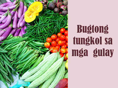 filipino poems tula tungkol sa gulay