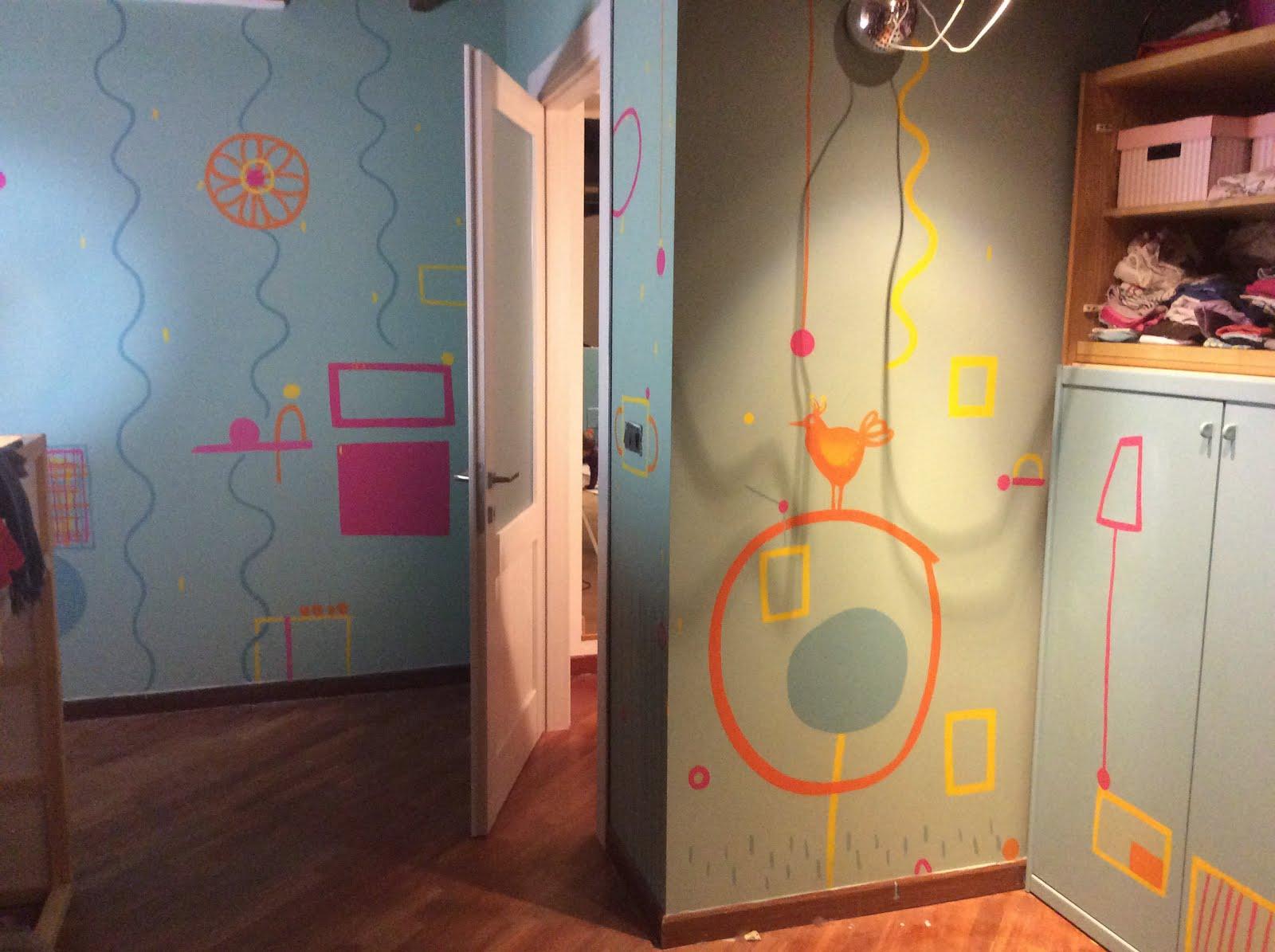 Parete Dipinta A Lavagna blog caffa - illustration and art: pareti d'artista/artist wall